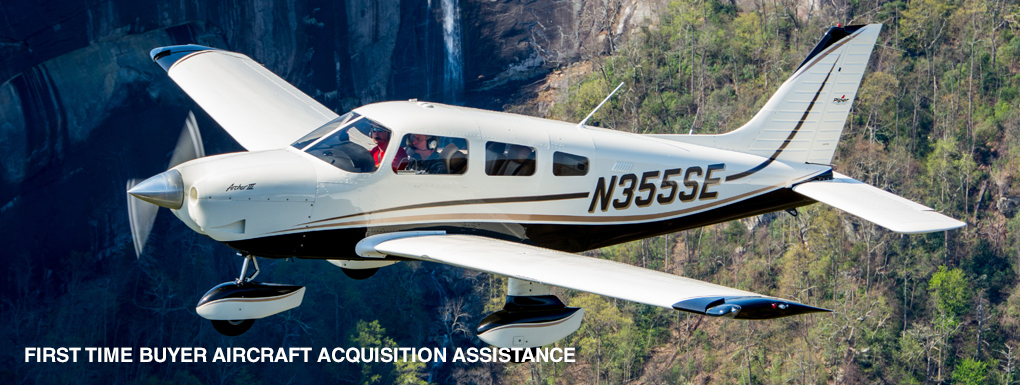 First time buyer aircraft acquisition assistance
